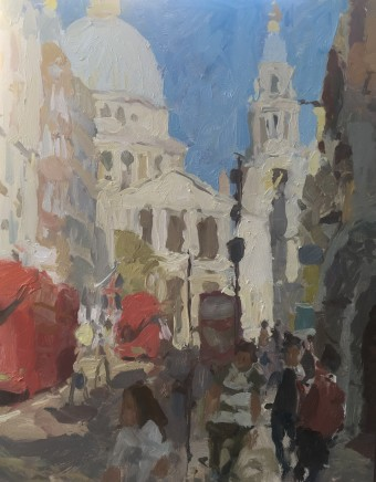 Adam Ralston MAFA, St. Paul's