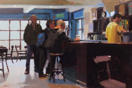 Michael Ashcroft ROI MAFA, 3 Deep at the Bar, Cask, Manchester
