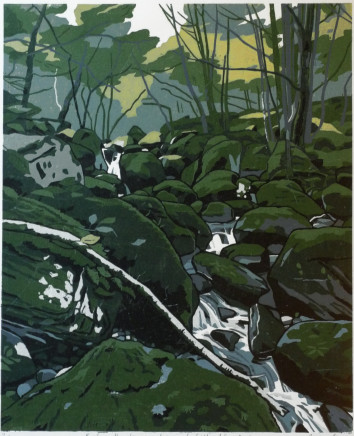 Ann Lewis RCA, Before the Leaves, 2018
