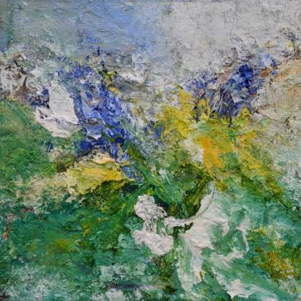 Matthew Bourne, Hyacinth, Daffodils, Garden Window, 2020