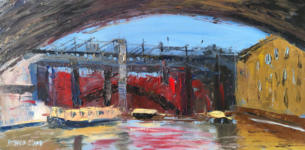 Richard Clare, Canal Boats, Castlefield, Manchester