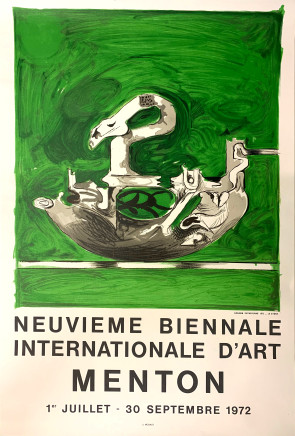 Graham Sutherland, Neuvieme Biennale Internationale D'art Menton 2, 1972