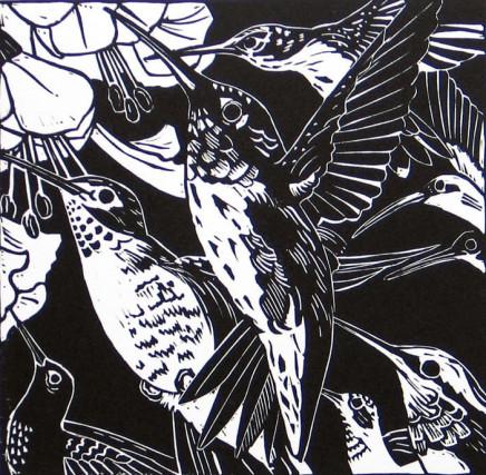 Ann Lewis RCA, Eight Nectar Seekers