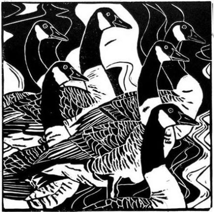 Ann Lewis RCA, Six Geese Gathering