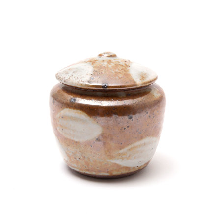 Phil Rogers, Lidded jar, 2017