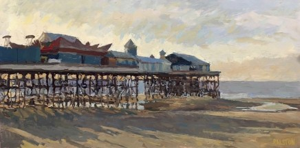 Adam Ralston MAFA, Central Pier, Evening