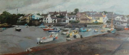 Anne Aspinall MAFA, From the Pier, Cemaes