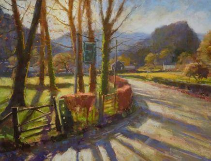 David Allen, Castle Crag, Borrowdale