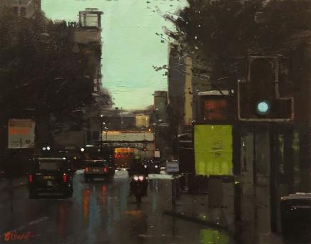 Michael Ashcroft MAFA, Rush Hour Deansgate, Manchester