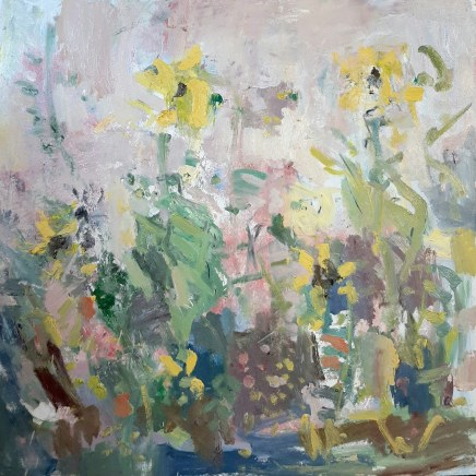 Ian Norris MAFA, Sunflowers and Wild Flower Meadow