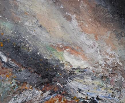 Matthew Bourne, Snow Filled Sky, Rocky Coastline