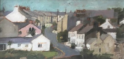 Anne Aspinall MAFA, Up the Hill, Moelfre