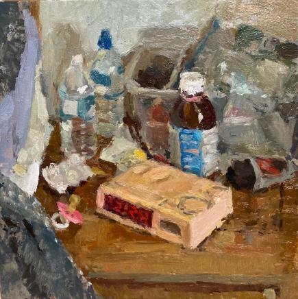 Adam Ralston MAFA, Bedside Table
