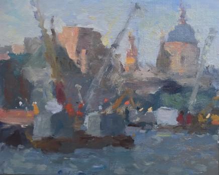 Adam Ralston MAFA, St. Paul's Dusk
