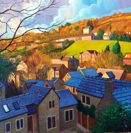 Chris Cyprus, Hillside Sun, 2018