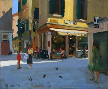 Steven Smith, Patisseria Dal Conte, Calle De L'Ospealeto, near Giovani E Paolo, Venice