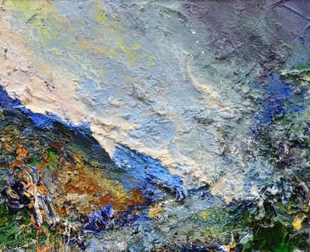 Matthew Bourne, Eroded Ground, Below The Peak, 2020