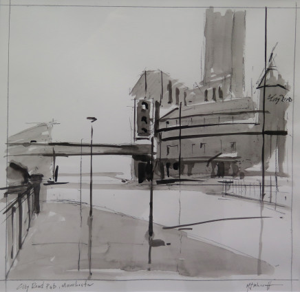 Michael Ashcroft MAFA, Cross Street (1), 2018