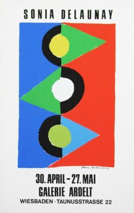 Sonia Delauney, Galerie Ardelt, 1971