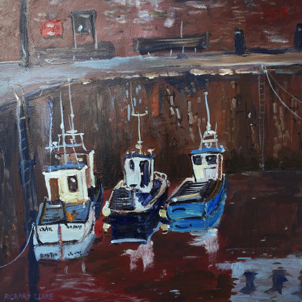 Richard Clare, Waiting to Go Out, Pittenweem, Scotland