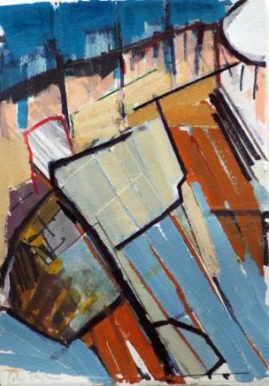 Colin Taylor MAFA, Spinningfields Site Drawing #5