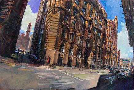 Rob Pointon AROI RBSA MAFA, Princess Street, Manchester, 2016
