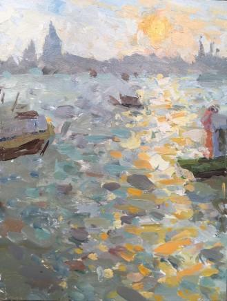 Adam Ralston MAFA, Venice Sunset, 2018