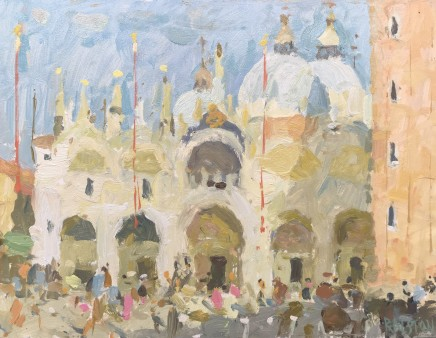 Adam Ralston MAFA, St. Marks Basilica, Afternoon Light, 2018