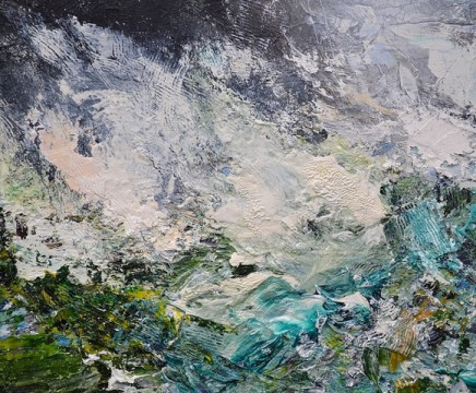 Matthew Bourne, Monolith, Rocky Ground, Incoming Storm , 2018