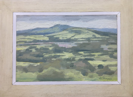 Alan James Thompson, Hill Near Mottram, 2018