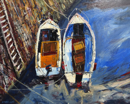 Richard Clare, Two Boats, Crail, Scotland