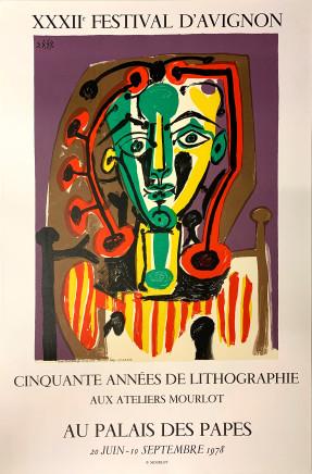 Pablo Picasso, XXXll Festival D'Avignon , 1978