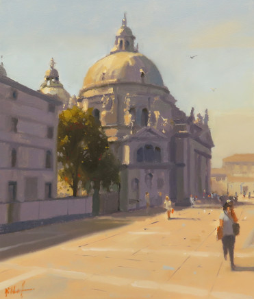 Michael Ashcroft MAFA, One Afternoon at the Salute, Venice