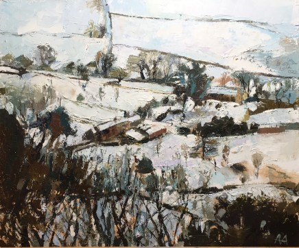 Anne Aspinall MAFA, Snow in February
