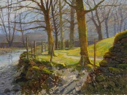 David Allen, February Sun, Kettlewell