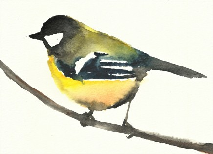 Liam Spencer, Great Tit 2, 2020
