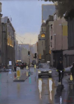 Michael Ashcroft AROI MAFA, Peter St Drive By, Manchester, 2020
