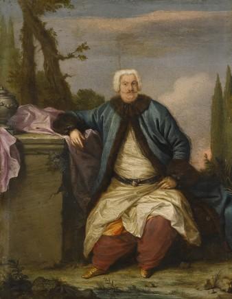 Andrea SOLDI, Portrait of a merchant of the Levant Company