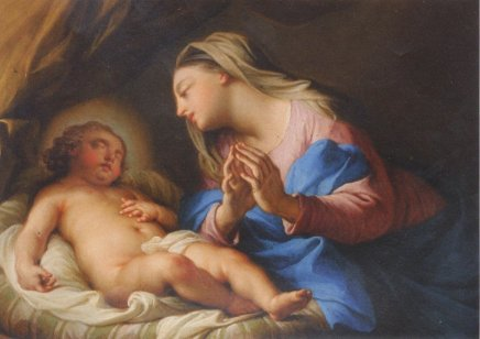 Andrea CASALI, Madonna and Child