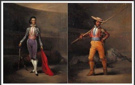 Jose ELBO, The Picador & The Matador Francisco Montes Reina dit Paquiro (1805 – 1851), c. 1835
