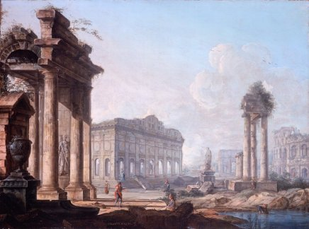 Pietro BELLOTTI, Capricci of Classical Ruins (a pair)