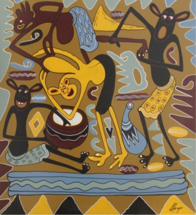 George Lilanga, Maziwa Haya Nishing Ngapi, 1998