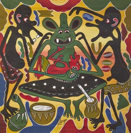 George Lilanga, Untitled, c1990s