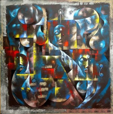 Wiz Kudowor, Three Muses and a Fantasy, 1997