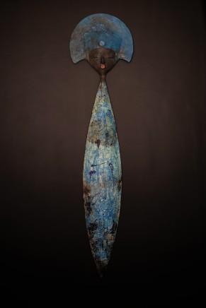 Etiyé Dimma Poulson, Bleu d'azur (mural) (Azur blue), 2016