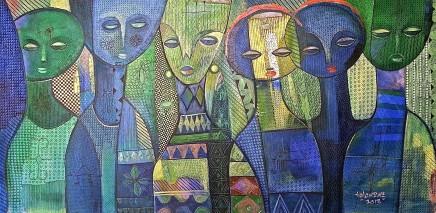 Nike Davies-Okundaye & Tola Wewe, Beauty is Everywhere, 2007