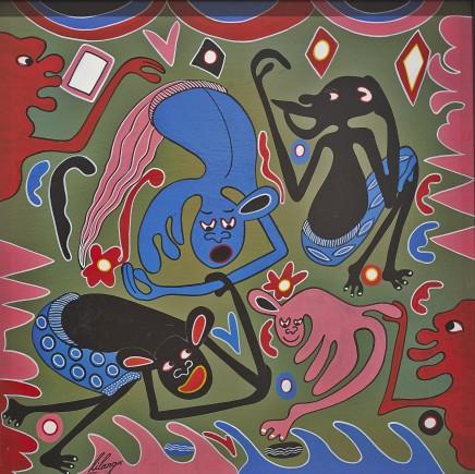 George Lilanga, Kumba Baba Jini, 1998