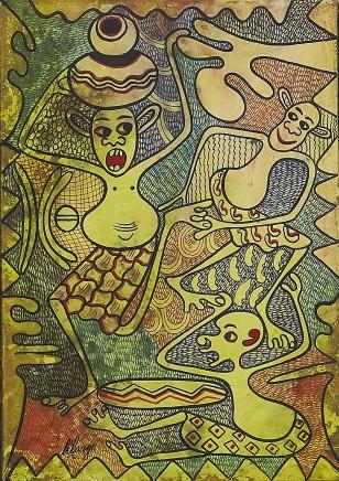 George Lilanga, Untitled