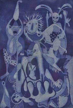 George Lilanga, Untitled, c1980s