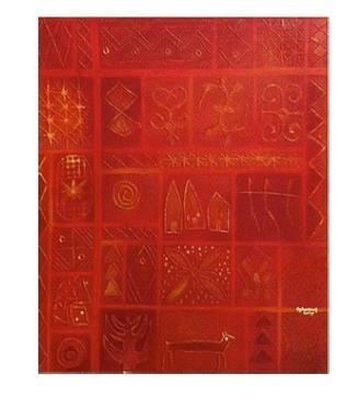Tola Wewe, Shadow of Trinity, 2005
